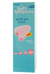 Soft Tampons Normal (Pack 10)